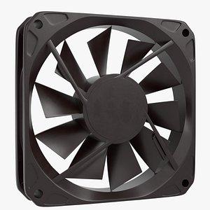 Computer fan 3D model
