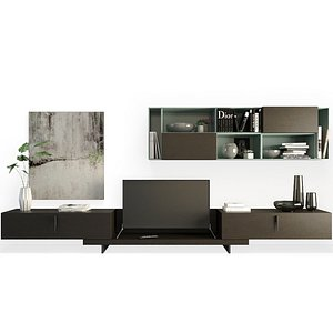 3D model Contemporary TV Furniture - Day 07