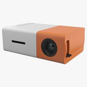 Mini Projector 3D model