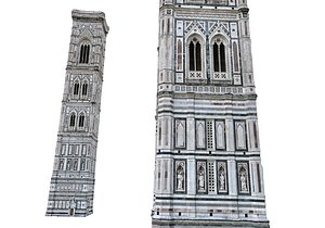 Florence Cathedral Tower 3D model