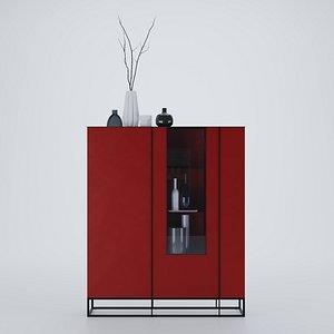 furniture sideboard 3D model