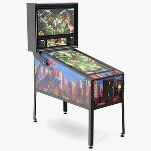 3D Jurassic Park Virtual Pinball Machine