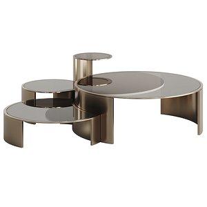 FENDI CONSTELLATION LITE COFFEE TABLE 3D