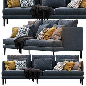 sofa paraiso 3D model