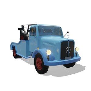 3D caminhão mercedes benz l