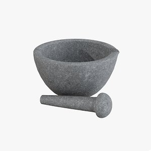 mortar pestle model