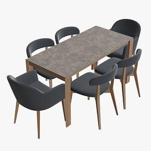 table chair 3D