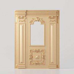 classic interior design 3D model