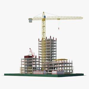 Building Construction site 3D model