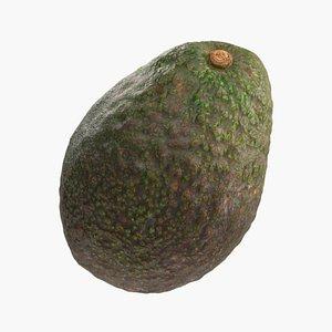 3D Avocado model