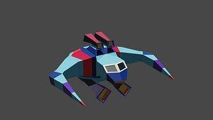 3D Simple Spaceship