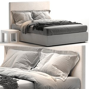 3D Bed MERIDIANI BARDO DUE