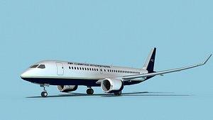 Bombardier CS100 Air Charter Intl model