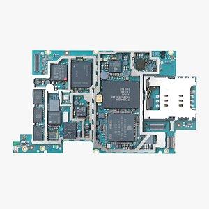 Electron board model