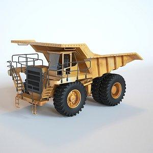 Off Highway Truck 3D