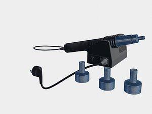 3D hot air welder