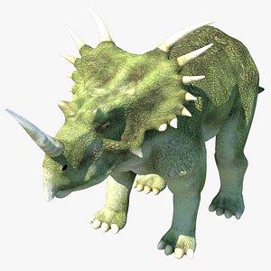 styracosaurus dinosaur model