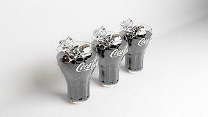 Coca Cola Glasses model