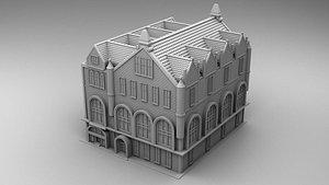 3D Chicago building model