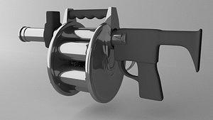 grenade launcher weapon 3D