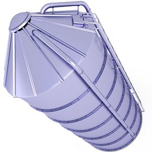 3D model Silo Corn Storage 22