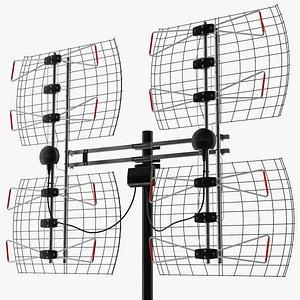 Antennas Direct 8 Element Bowtie TV Antenna model