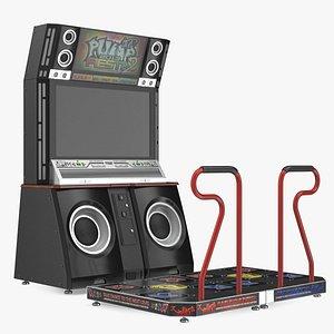 Pump It Up Fiesta 2 Arcade Dance Machine Off model