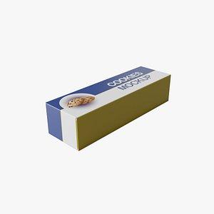Biscuit Packaging 3D model