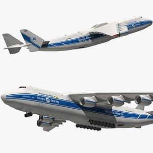 3D Antonov An225 Volga Dnepr