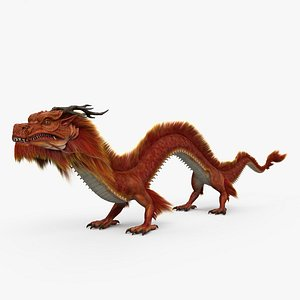 3D chinese dragon model