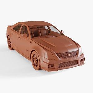 3D cadillac cts-v sedan