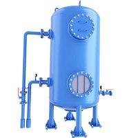 Liquid Chemical Toxic Storage Tank 3D Model 60