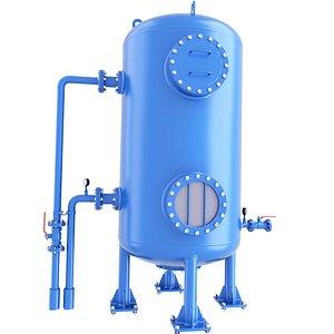 tank liquid toxic 3D model