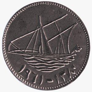 3D coin arab kuwait