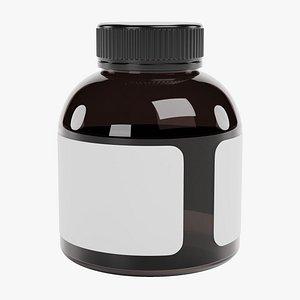 3D Pill Bottle 6