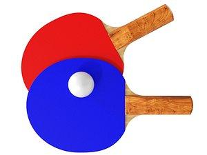 tennis wood 3D