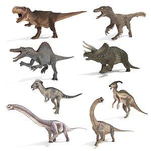 3D model Dinosaur Collection