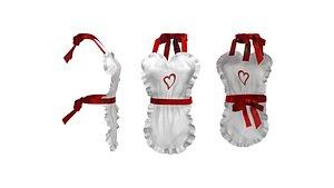 Heart Apron 3D