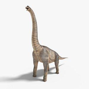 brachiosaurus blender v-multi model