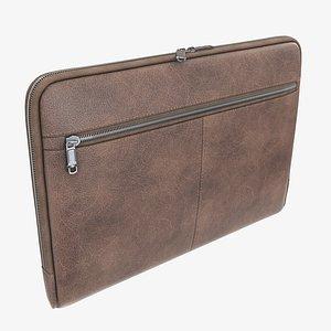 folder briefcase case 3D