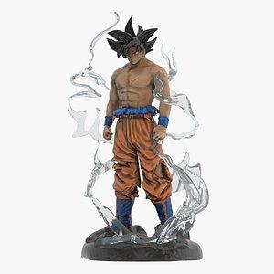 3D Songoku Super Saiyan model