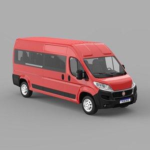Fiat Ducato Passengers 2020 3D