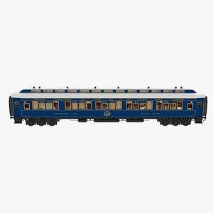 Sleeping Car Orient Express 3D