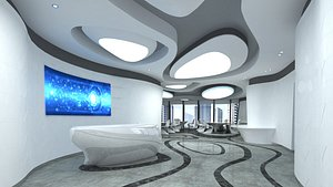3D Lobby Reception 04