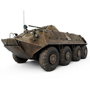 BTR-60 3D model