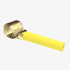 3D party whistle blower model