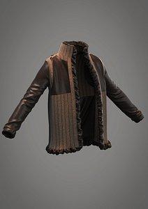 sweater jacket model
