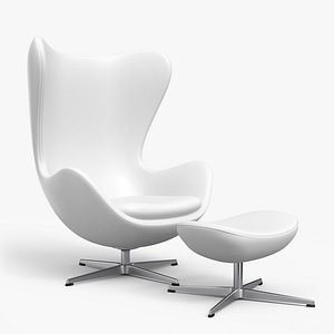 egg lounge chair model