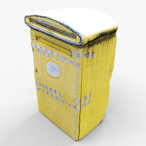 French mailbox 3D model