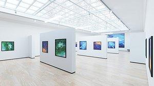 Art Museum Gallery Interior 4 model